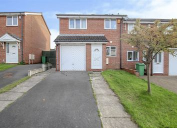 Thumbnail 3 bedroom end terrace house for sale in Heron Drive, Lenton, Nottingham
