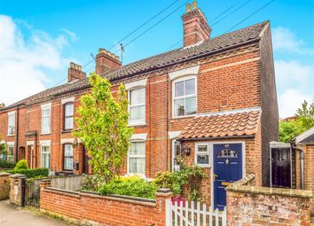 Thumbnail 3 bedroom end terrace house for sale in Leopold Road, Norwich