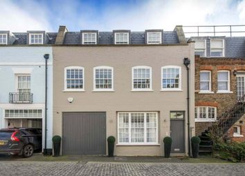 Thumbnail 3 bedroom mews house for sale in Devonshire Mews South, London