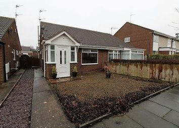 Thumbnail 2 bed semi-detached bungalow for sale in Bromley Gardens, Blyth