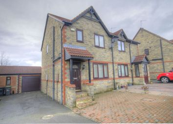 Thumbnail 3 bed semi-detached house for sale in Romany Drive, Consett