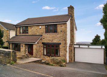 Thumbnail 4 bed detached house for sale in Ridgeway Mount, Exley Head, West Yorkshire