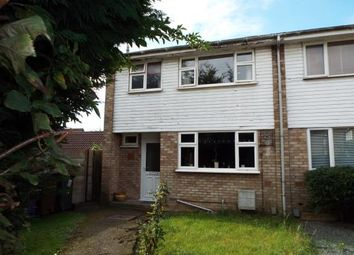 Thumbnail 3 bed semi-detached house for sale in Pyms Close, Letchworth, Hertfordshire