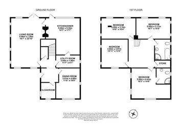 Thumbnail Detached house for sale in The Willows, Lees Hill, Brampton