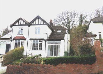 Thumbnail 3 bedroom semi-detached house for sale in Lan Park Road, Pontypridd