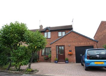 Thumbnail 3 bed detached house for sale in Bridgewater Park Drive, Skellow, Doncaster