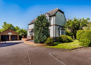 Thumbnail 4 bed detached house for sale in Trailly Close, Yielden, Bedford