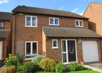 Thumbnail 4 bed detached house for sale in Hill Rise Close, Littleover, Derby