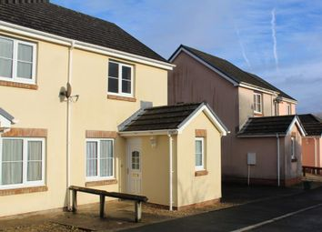 Thumbnail 2 bed semi-detached house for sale in Fforest Fach, Tycroes, Ammanford