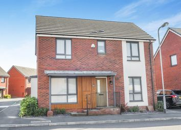 Thumbnail 3 bed detached house for sale in Bartley Wilson Way, Cardiff