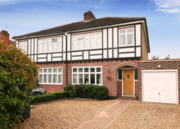 Thumbnail 3 bed semi-detached house for sale in Trevone Gardens, Pinner