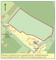 Thumbnail Land for sale in Land West Side Of Wigmore Lane, Eythorne, Kent