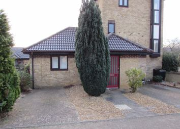 Thumbnail 1 bed terraced bungalow to rent in Witham Court, Tweed Drive, Milton Keynes