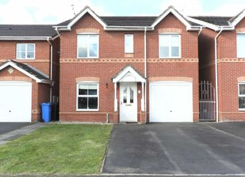 Thumbnail 4 bed detached house for sale in Appleton Road, Kirkby, Liverpool