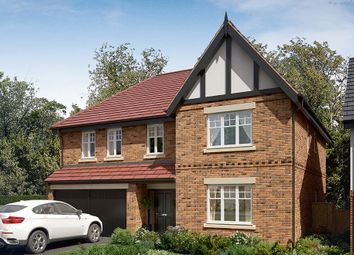 "Thumbnail 5 bed detached house for sale in ""The Kirkham"" at Wingfield Road, Alfreton"