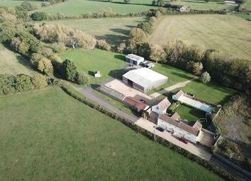 Thumbnail 5 bed farm for sale in New Pool Farm, Southwick, Trowbridge
