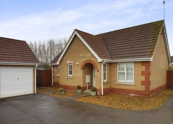 Thumbnail 2 bed detached bungalow for sale in Orchard Close, Leverington, Wisbech