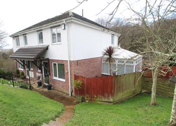 Thumbnail 3 bedroom semi-detached house for sale in Carlton Close, Plymouth