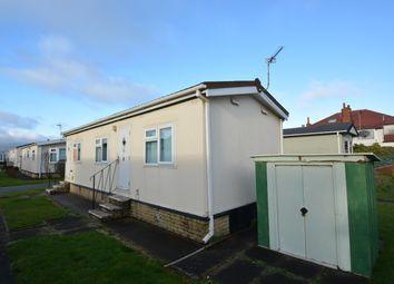 Thumbnail 1 bedroom mobile/park home for sale in Sunnyhurst Park, Blackpool