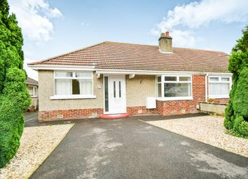 Thumbnail 2 bedroom semi-detached bungalow for sale in Berkeley Road, Wroughton, Swindon