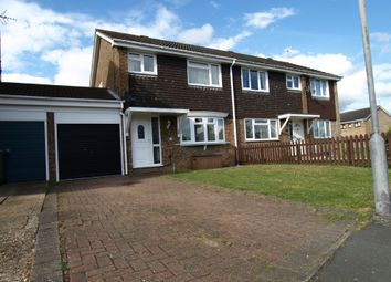 Thumbnail 4 bed semi-detached house for sale in Kipling Drive, Newport Pagnell, Buckinghamshire