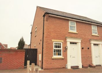 Thumbnail 2 bed semi-detached house for sale in Kings Sconce Avenue, Newark
