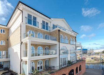 Thumbnail 4 bed flat for sale in Hamilton Quay, Eastbourne, Sovereign Harbour