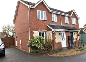 Thumbnail 3 bed semi-detached house to rent in St. James Way, Moulton Chapel, Spalding