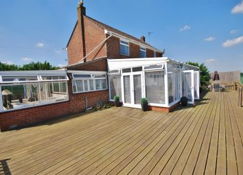 Thumbnail 3 bed detached house for sale in Roman Bank, Holbeach Bank, Spalding