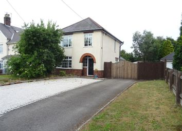 Thumbnail 3 bed detached house for sale in Station Road, Bagworth, Leicestershire