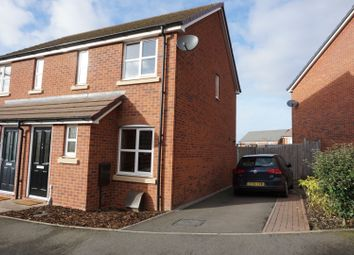 Thumbnail 2 bed semi-detached house for sale in Butler Close, Leamington Spa