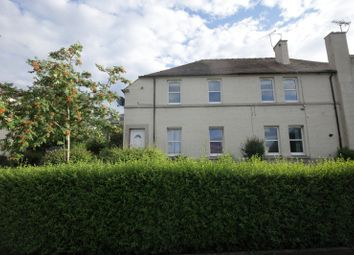 Thumbnail 2 bed flat for sale in Cornhill Cresent, Stirling, Stirling
