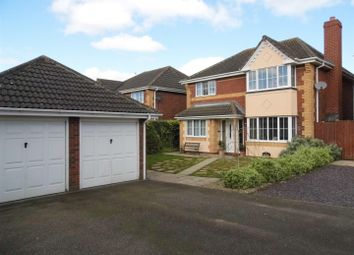 Thumbnail 4 bedroom property for sale in Sandover Close, West Winch, King's Lynn