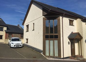 Thumbnail 2 bed semi-detached house to rent in Old Rectory Road, Morchard Bishop, Crediton