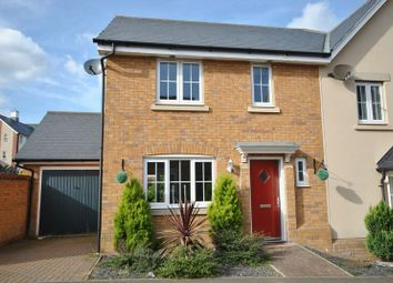Thumbnail 3 bed end terrace house for sale in Heron Road, Costessey, Norwich