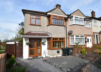 Thumbnail 3 bed end terrace house for sale in Berkeley Crescent, Dartford, Kent