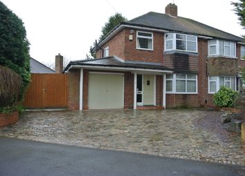Thumbnail 3 bed semi-detached house to rent in Maythorn Avenue, Sutton Coldfield