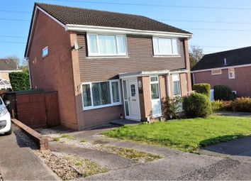 Thumbnail 2 bed semi-detached house for sale in Heol Treffynnon, Cwmrhydyceirw