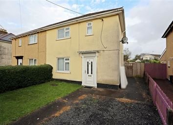Thumbnail 3 bedroom semi-detached house for sale in Maesteg Crescent, Tonteg, Pontypridd