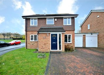 Thumbnail 3 bed link-detached house for sale in Kilmuir Close, College Town, Sandhurst