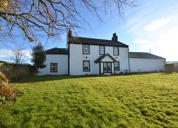 Thumbnail 5 bed equestrian property for sale in Threave Farm House Crosshill, Maybole