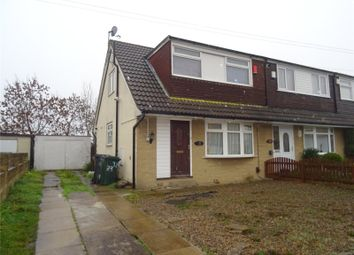 Thumbnail 3 bed semi-detached house for sale in Hazelcroft, Bradford, West Yorkshire