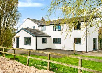 Thumbnail 4 bed farmhouse for sale in Bank Lane, Warton, Preston, Lancashire