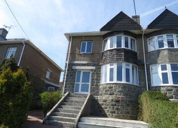 Thumbnail 3 bed semi-detached house for sale in Radford Park Road, Plymstock, Plymouth
