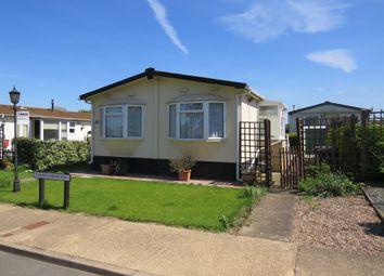 Thumbnail 2 bedroom mobile/park home for sale in Cottage Gardens, Bedford Road, Rushden