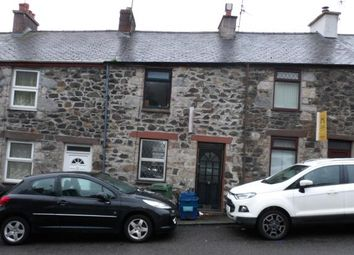 Thumbnail 2 bed terraced house for sale in Penchwintan Terrace, Bangor, Gwynedd
