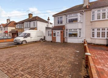 Thumbnail 4 bed semi-detached house for sale in Valley Drive, Gravesend