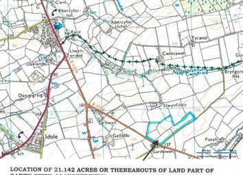 Thumbnail Land for sale in Llangyndeyrn, Kidwelly
