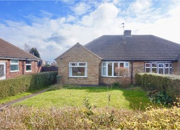 Thumbnail 2 bed semi-detached bungalow for sale in Radnor Drive, Shepshed