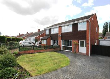 Thumbnail 3 bed semi-detached house for sale in Vineyard Road, Newport